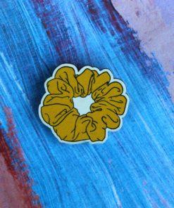 Деревянный значок Резинка для волос