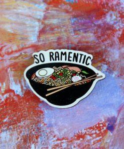 Деревянный значок Ramentic