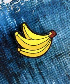 Деревянный значок Связка бананов