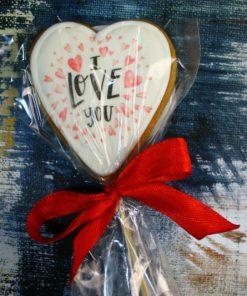 Имбирное печенье Love you