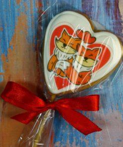 Имбирное печенье Влюбленные лисички