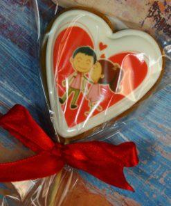 Имбирное печенье Влюбленная парочка
